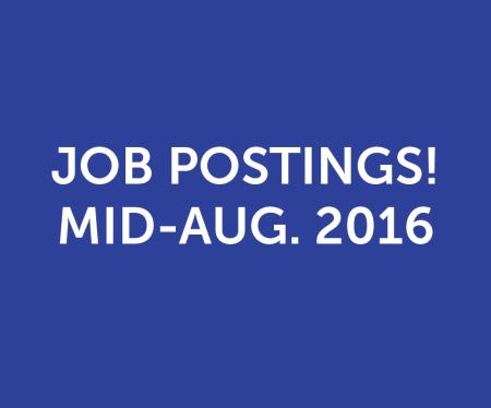 Job Postings 081716