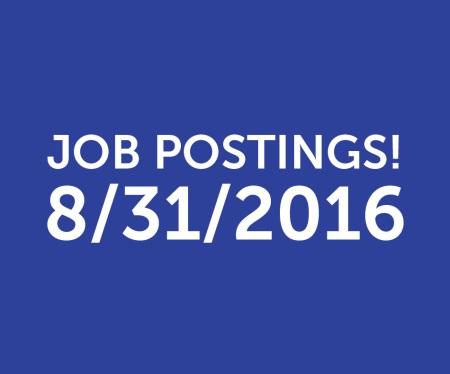 Job Postings 083116