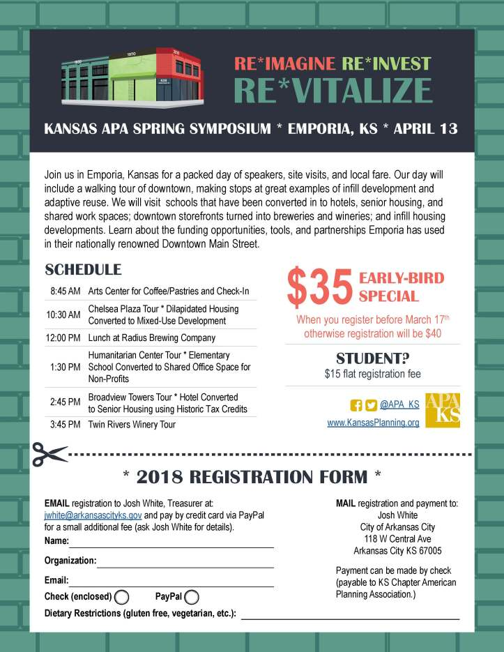 2018 Spring Symposium Registration